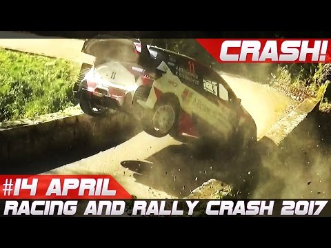 Week 14 April 2017 Racing and Rally Crash Compilation