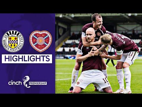 St Mirren Hearts Goals And Highlights