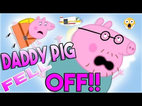 Daddy Pig Falls Out of the Airplane 😱 (YTP)