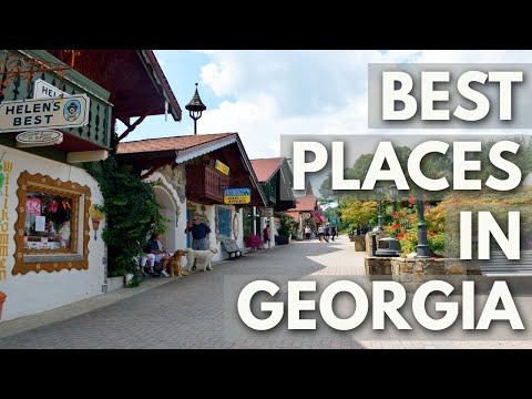 10 Best Travel Destinations in Georgia USA
