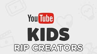 YouTube Is About To Destroy Kids Content