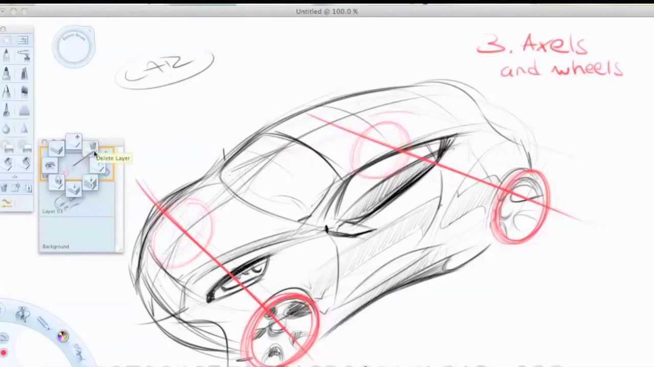 Perspective Basics Car Design YouTube