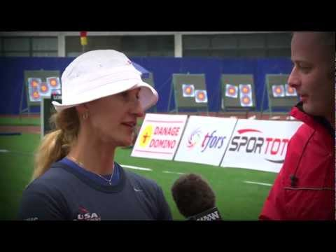 Flash Interviews 2012 - Shanghai Day 4 - Archery World Cup Stage 1
