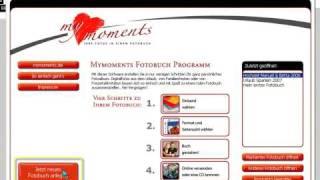 My Moments Fotobuch - Neues Fotobuch