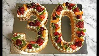 ТОРТ ЦИФРА НА 30 ЛЕТ!!! / Торт на День Рождения / Праздничный Торт / Birthday Cake