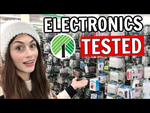 Testing Electronics From The Dollar Tree | DOES IT WORK?