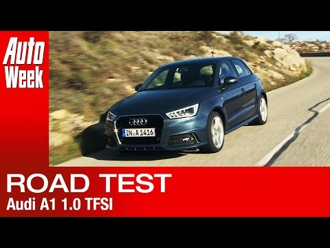 Audi A1 facelift 1.0 TFSI - AutoWeek review - English subtitled