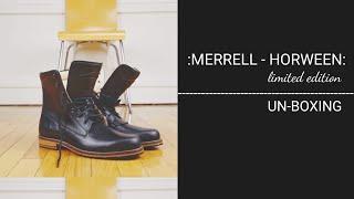 MERRELL - HORWEEN -WAYFARER    unboxing    The Boot Guy Reviews