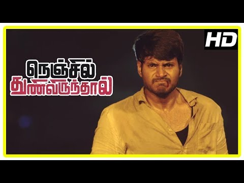 Nenjil Thunivirunthal Latest Movie Scenes | Sundeep Saves Vikranth And Shathiga | Harish Uthaman