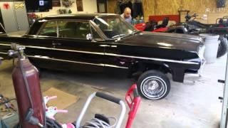 "1964 Impala lowrider hydraulics ""Midnight Rush"""