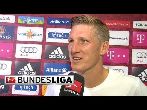 Ribery, Robben, Schweinsteiger and Boateng - Post Game Interview