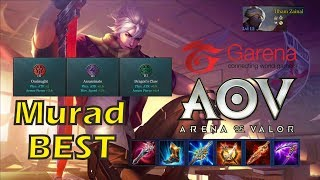 Murad Best Assassin !!!  Siapa Bilang Murad Susah Di Pake ???  Arena Of Valor