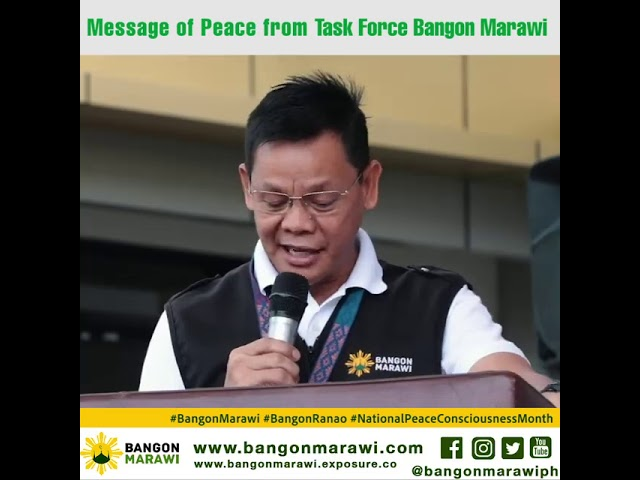 MESSAGE OF PEACE FROM TFBM