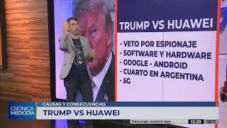 El veo de Trump a Huawei: ¿guerra o prevención?
