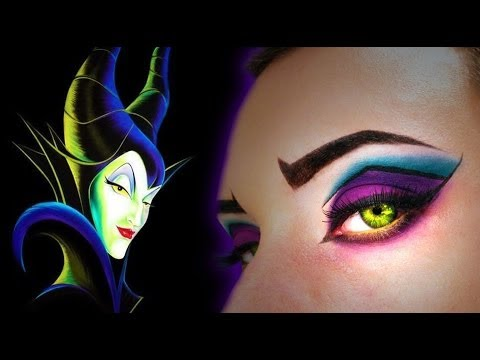 Maleficent inspired Make Up Tutorial Trucco carnevale