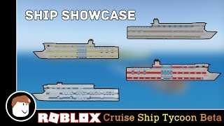 Roblox Showcase | Cruise Ship Tycoon Beta