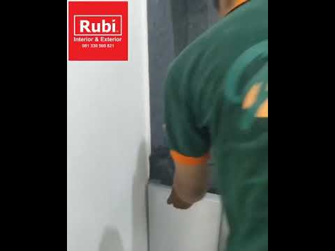 Kitchen set aluminium ACP surabaya - YouTube