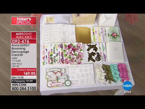 HSN | Paper Crafting Tools & Supplies featuring Stamping 03.07.2018 - 08 AM