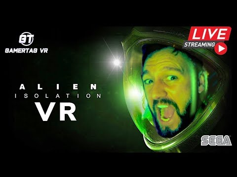 I Can't BELIEVE I'm Doing This!! Alien Isolation In VR #Howwillyousurvive