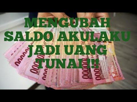 CARA MENCAIRKAN SALDO AKULAKU JADI UANG TUNAI !!!