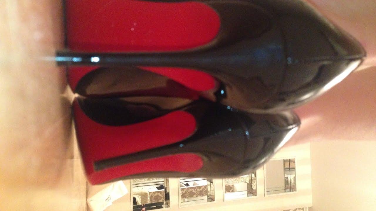on sale aec75 278a4 Christian Louboutin Decollete 554, 85mm, unboxing, defile // Как выбрать  размер