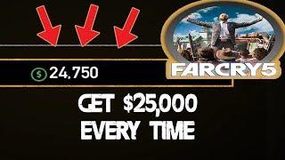 Far Cry 5 - Money Glitch: 5000 dollars en 10 minutes répétable !