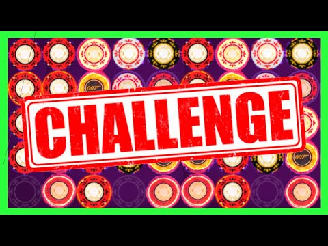 007 Slot Machine Challenge! $500 In EVERY JAMES BOND Slot Machine W/SDGuy1234