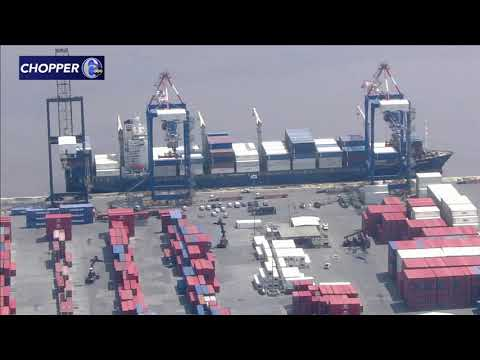 5 stowaways found on large container ship, detained at Penn Terminals