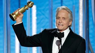 """Michael douglas wins best actor in a tv series – musical or comedy at the just concluded 76th golden globes awards (golden 2019) for his work """"the ..."""