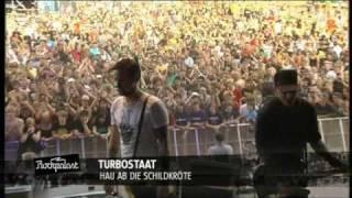 Turbostaat beim Area4 2009 - Vormann Leiss - Schwan - Hau ab die Schildkröte