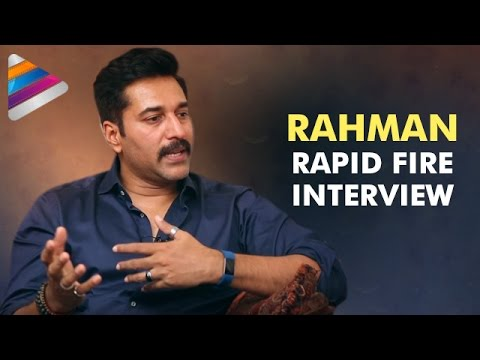 Rahman Reveals his College Crush | Actor Rahman Rapid Fire Interview | Telugu Filmnagar
