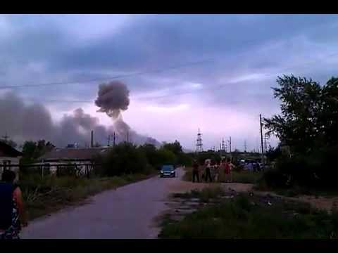 Взрыв в Чапаевске