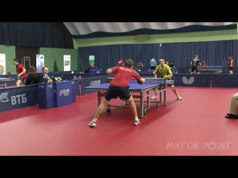 Maxim Shmyrev - Denis Ivonin. 2016 ITTF World Tour Belarus Open