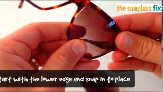 carrera sunglass lenses, how to replace