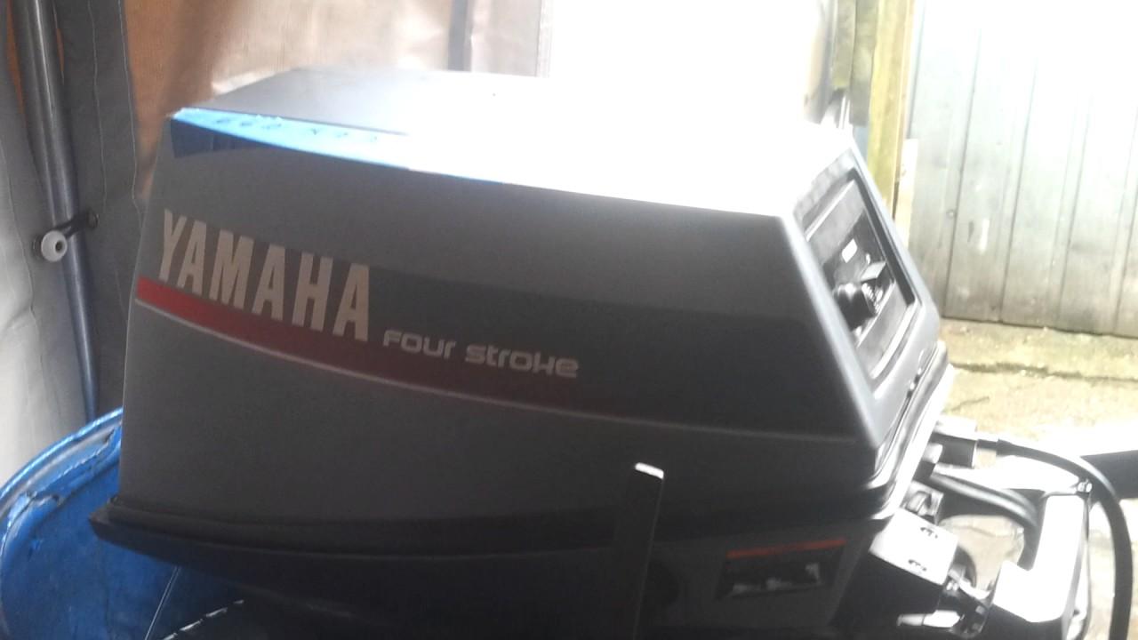 1993 Yamaha FT 9.9 hp high trust outboard motor 4-stroke