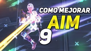 *COMO MEJORAR AIM EDITS CONSTRUCCION* 9 FORTNITE BATTLE ROYALE