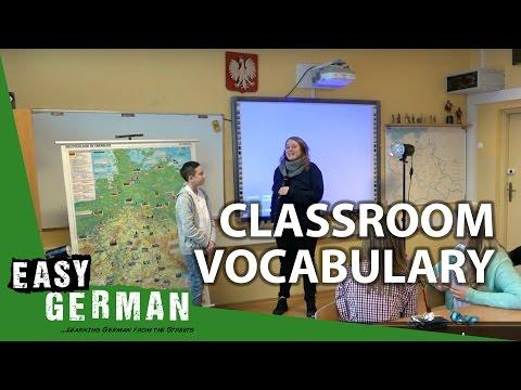 Classroom vocabulary   Super Easy German (23)