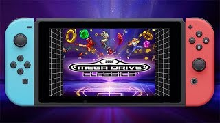SEGA MEGA DRIVE CLASSICS NINTENDO SWITCH GAMEPLAY
