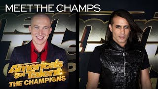 Spencer Horsman and Ben Blaque Are Raising the STAKES! - America's Got Talent: The Champions