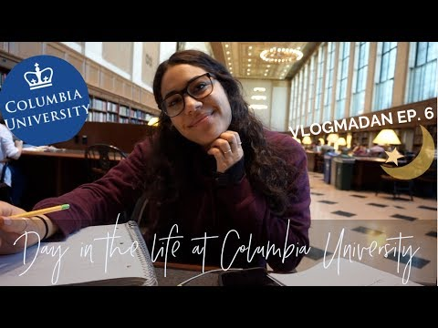 A day in the life of a Columbia University student | VIP.Fund | VLOGMADAN 6