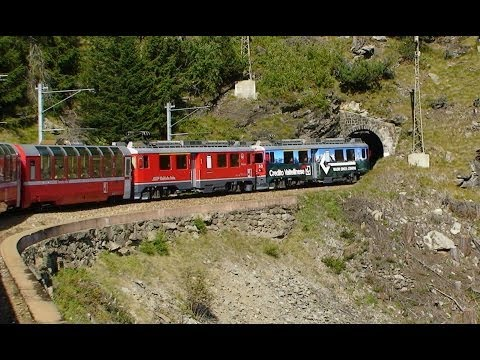 Bernina Express - Part 1 - Pontresina to Tirano