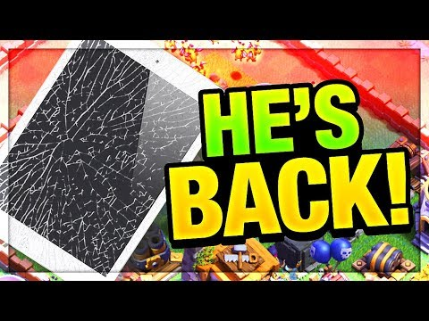 Thumbnail: iPad BREAKS - Peter17$ RETURNS - and LOSES IT! Clash of Clans Update