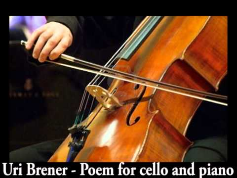 URI BRENER CHAMBER MUSIC (CELLO) 1989: