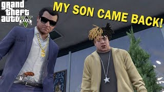 MY FAMILY BACK AND ANNOYING! ( FUNNY GTA 5 STORYMODE GAMEPLAY #22)