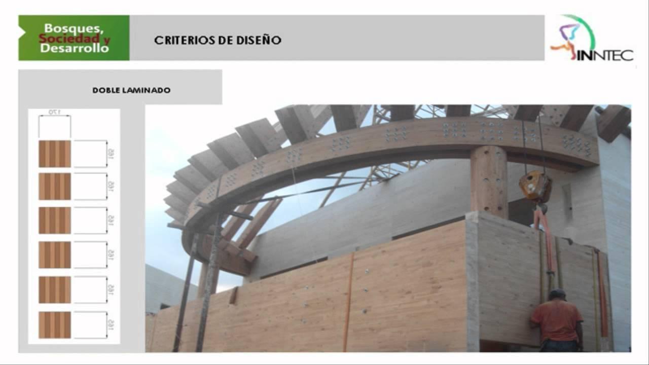 Conferencia estructuras en madera laminada juan acevedo youtube - Estructuras de madera laminada ...