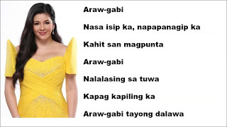 Araw Gabi Lyrics - Regine Velasquez
