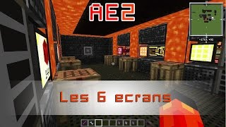 Les 6 écrans Applied Energistics 2. AE2