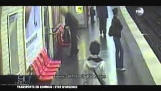 Agression  sexuel dans la station du R.E.R