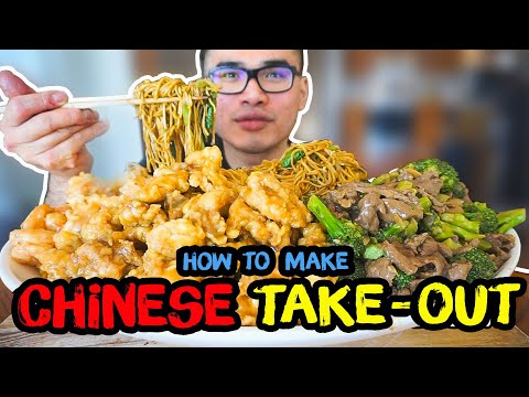 How To Make CHINESE TAKE-OUT
