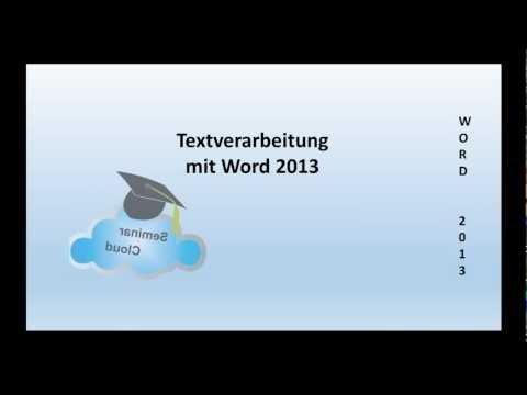 Microsoft Word 2013 Basics von YouTube · Dauer:  11 Minuten 16 Sekunden